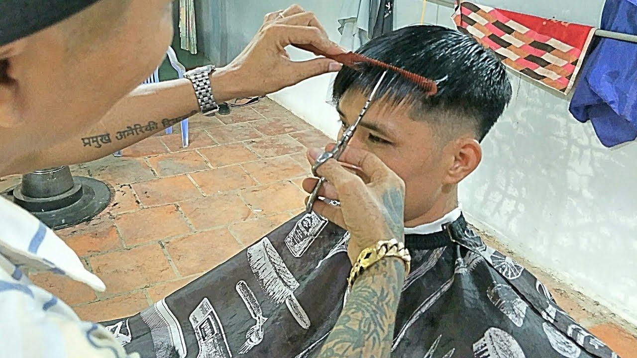 Hướng dẫn cắt mái và tạo kiểu tóc thích hợp cho người có khuôn mặt Gầy và dài hiệu quả nhất…! | Tổng hợp những nội dung về kiểu tóc đẹp cho khuôn mặt gầy chuẩn nhất