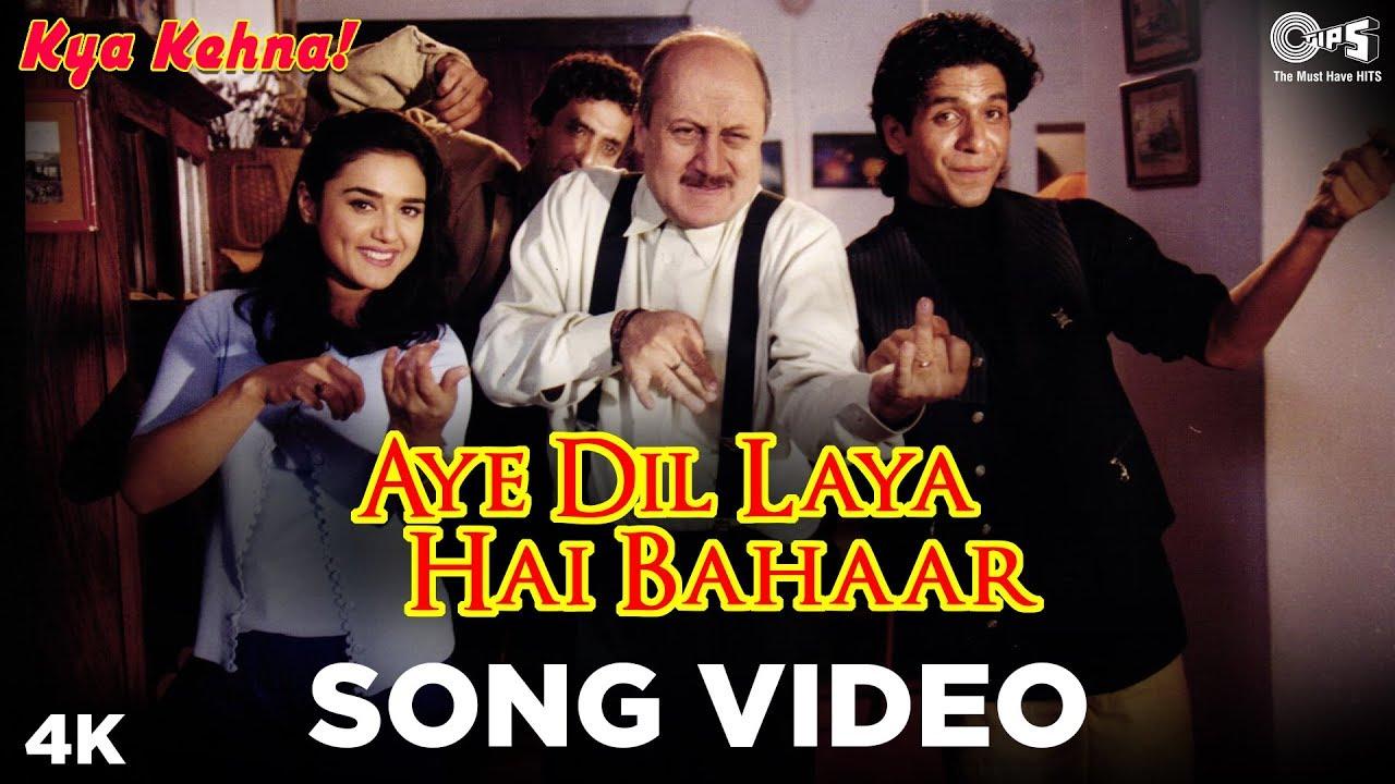 Download Aye Dil Laya Hai Bahaar Song Video - Kya Kehna! | Kavita Krishnamurthy & Hariharan | Preity Zinta