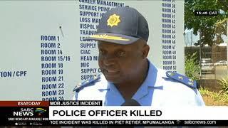 Police officer killed in Piet Retief
