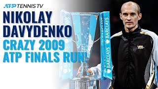 When Nikolay Davydenko Beat Federer, Nadal & Del Potro To Win ATP Finals 2009!