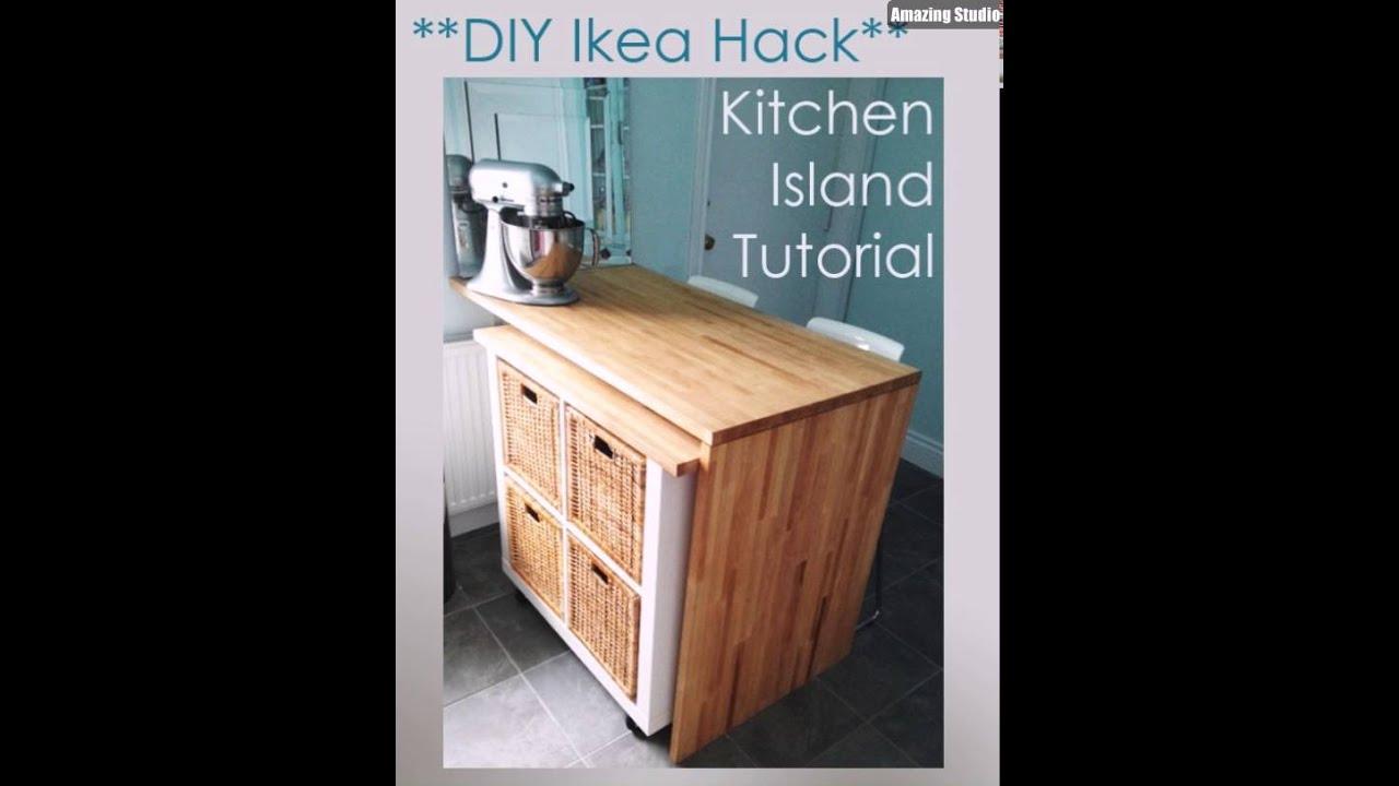 Diy Kitchen Island From Desk