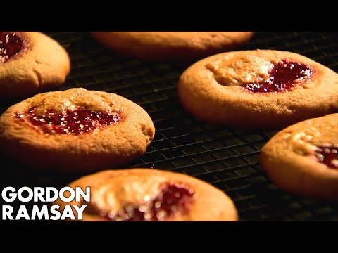 Download Youtube: Peanut Butter and Jam Cookies with a Caesar Salad | Gordon Ramsay