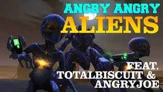 Angry Angry Aliens - XCOM: Enemy Within - TotalBiscuit vs AngryJoe