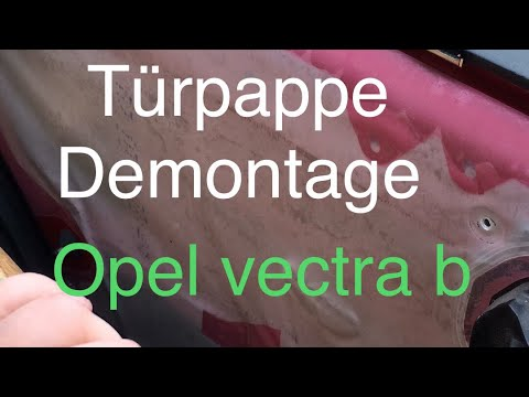 Opel Vectra B |türverkleidung Demontage |zv Problem 2/3