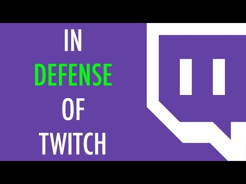 In Defense of Twitch