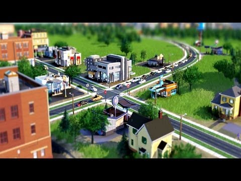 Sim City 5 Game Trailer (PC - Gamescom 2012)