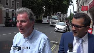 Oliver Letwin MP escapes questions on the Naylor Review and NHS privatisation