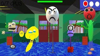 Sticky in fun with numbers! - Baldi's Basics V1.4 Mod
