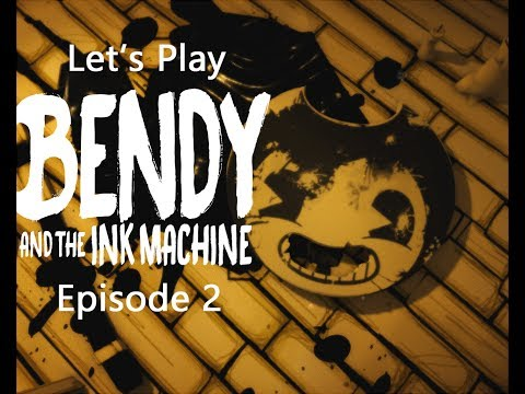 🖋🖊The Search for Missing 🗝 Keys!  Let's Play Bendy and the Ink Machine Episode 2🖊🖋