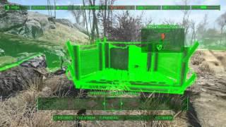 Fallout 4 Поселения - Застройка Форпоста Зимонджа.