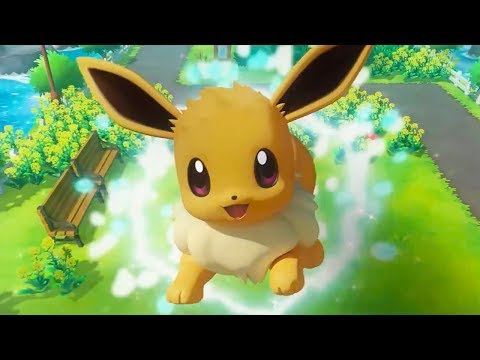 Pokémon: Let's Go, Pikachu! and Pokémon: Let's Go, Eevee! - Official Switch Announcement Trailer
