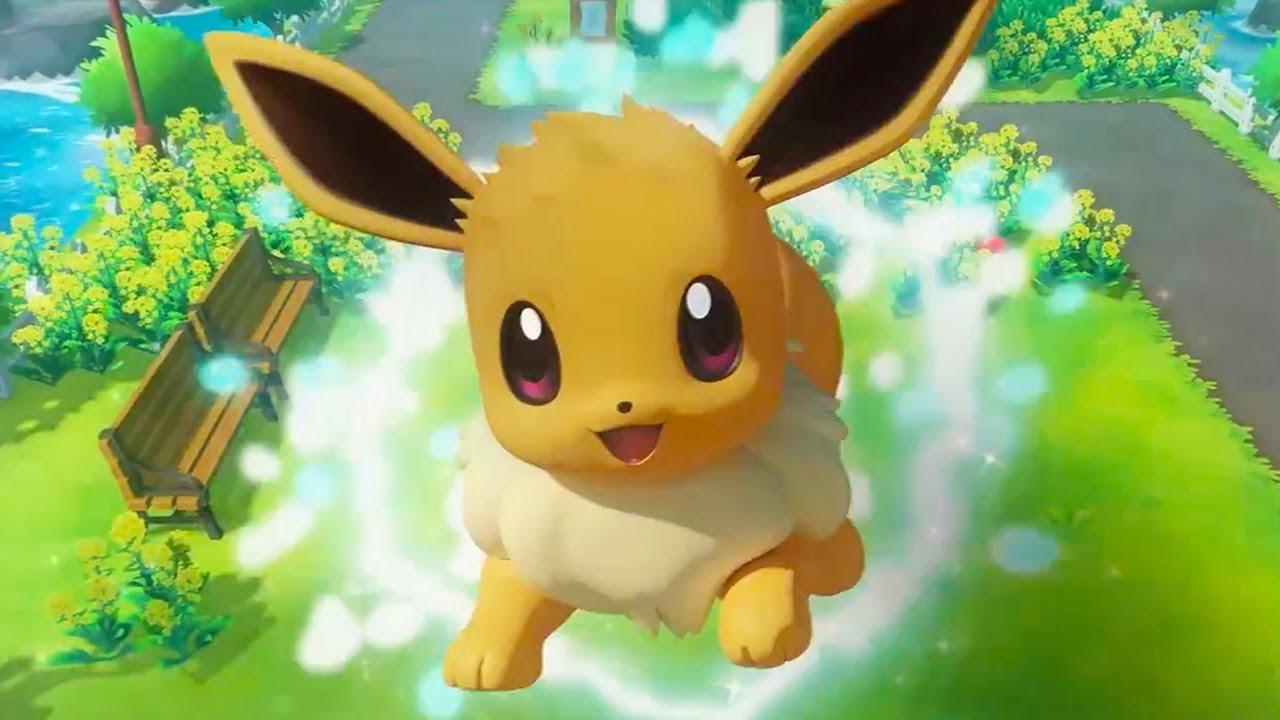 Pokémon: Let's Go, Pikachu! and Pokémon: Let's Go, Eevee! - Official Switch Announcement Trailer - YouTube