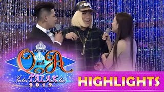 Ate Girl Jackie and Kuya Escort Ion, pinag-agawan si Vice Ganda