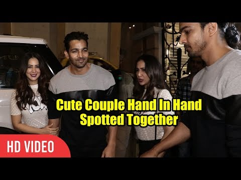 Kim Sharma And Harshvardhan Rane Spotted Together At Varun Bahl Store Launch