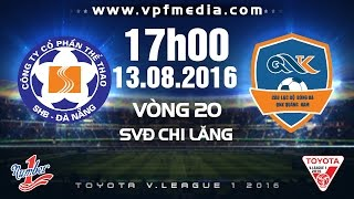 Da Nang vs QNK Quang Nam full match