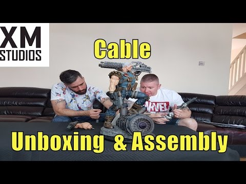 XM Studios Cable unboxing and how to assemble