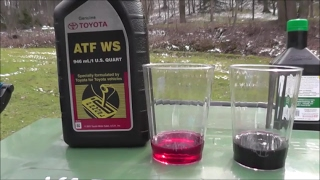 Toyota Automatic Transmission Fluid WS - everything you will ever want to know