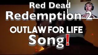Red dead redemption 2 Song   Outlaws For Life   #NerdOut Reaction