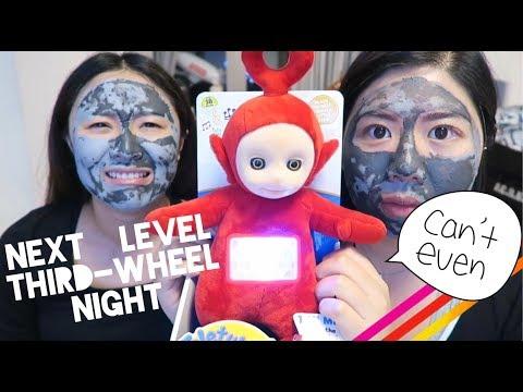 JM ♡ 產前GIRLS NIGHT IN! │Vlog ft.「毛孔大作戰」