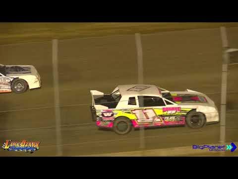 Lake Ozark Speedway  40 Lap Factory Stock Dirt Track 9 23 17