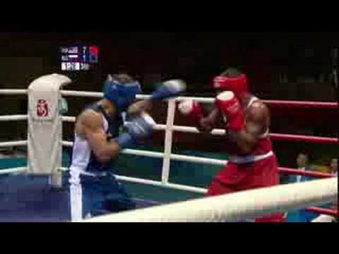 USA vs Russia - Boxing - Welterweight 69KG - Beijing 2008 Summer Olympic Games