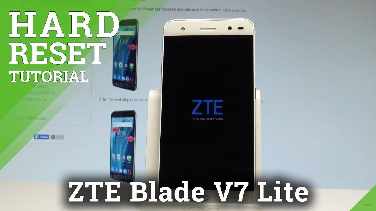 Hard Reset ZTE Blade Vantage - HardReset info