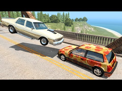 Realistic High Speed Crashes #47 - BeamNG Drive | CrashBoomPunk