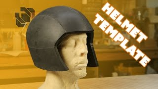 Basic EVA Foam Costume Helmet Template Tutorial