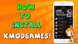 Install xmodgames on ios no jailbreak