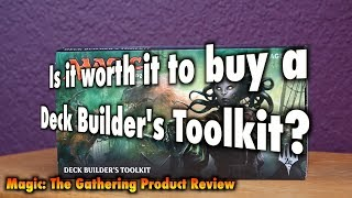 MTG - Is it worth it to buy an Ixalan Deck Builder's Toolkit for Magic: The Gathering?