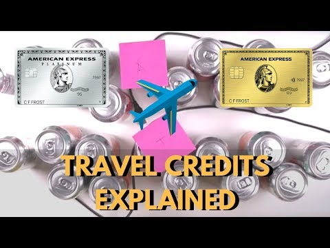 Double Dipping Travel Credits ILLUSTRATED (Amex Gold, Amex Platinum)
