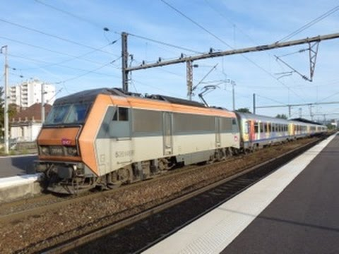 French Trains: At Mulhouse & St Louis Stations