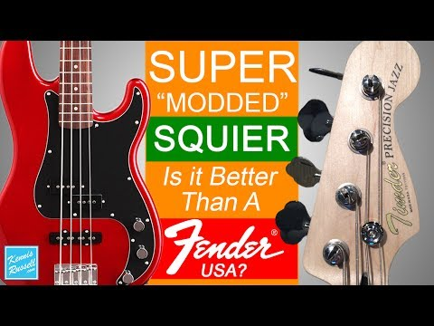 Download Youtube: Did I Just Mod A Squier Bass Better Than An American Fender?