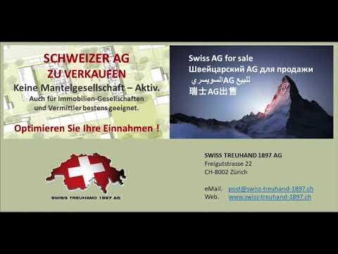 Aktiengesellschaft zu verkaufen in der Schweiz