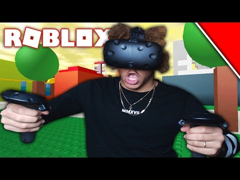 ROBLOX VIRTUAL REALITY! *HTC VIVE*