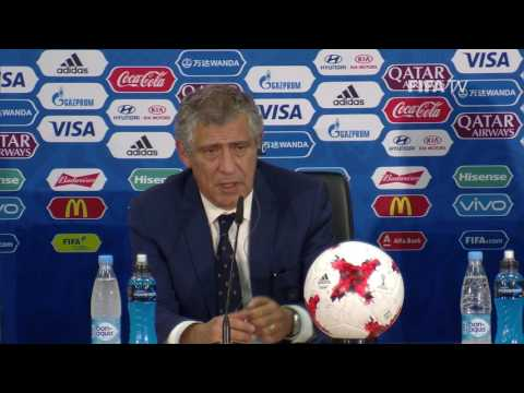RUS v POR - Fernando Santos - Portugal Post-Match Press Conference