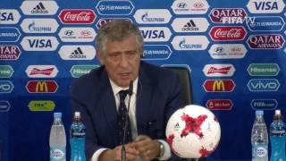 RUS v POR Fernando Santos Portugal Post Match Press Conference