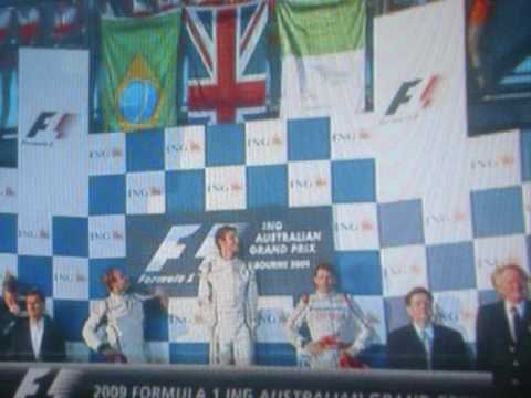 Jenson button Wins The Australian Grand Prix