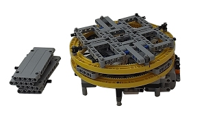[MOC] Lego Technic Plateau Tournant Motorisé