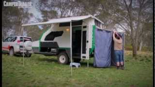 Track Trailer - Topaz Series 2- CamperTailer Magazine Awards 2013 - Top Tourist Parks