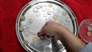 Slippery coins😃kitty party game 😃couple party game ❤fun