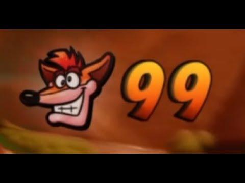Crash Bandicoot 2: Truco para conseguir 99 vidas Trofeo