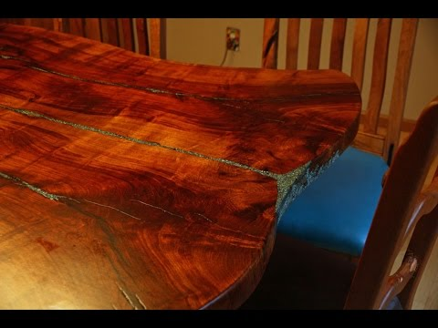 Mesquite Dining Table By Dennis Sobotta Youtube