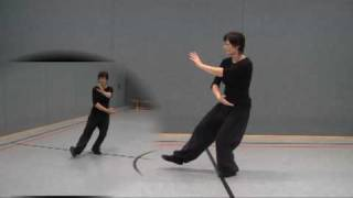 Tai Chi Übungen/Yang Stil Tai Chi 103er Form (Taijiquan)/ Vogel am Schwanz packen