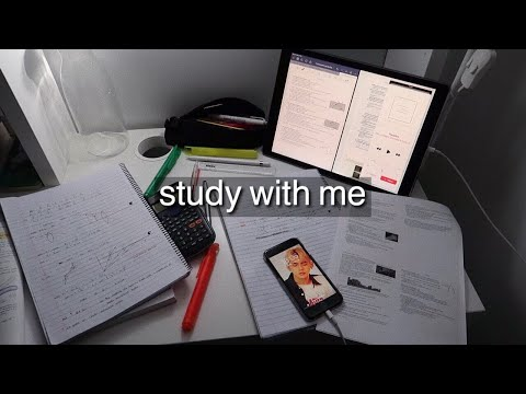 have a productive study weekend w/ me (17hrs of study) // leaving cert