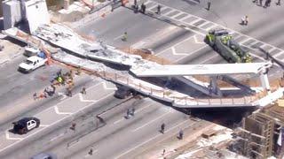 "Witnesses describe harrowing Florida bridge collapse: ""It"