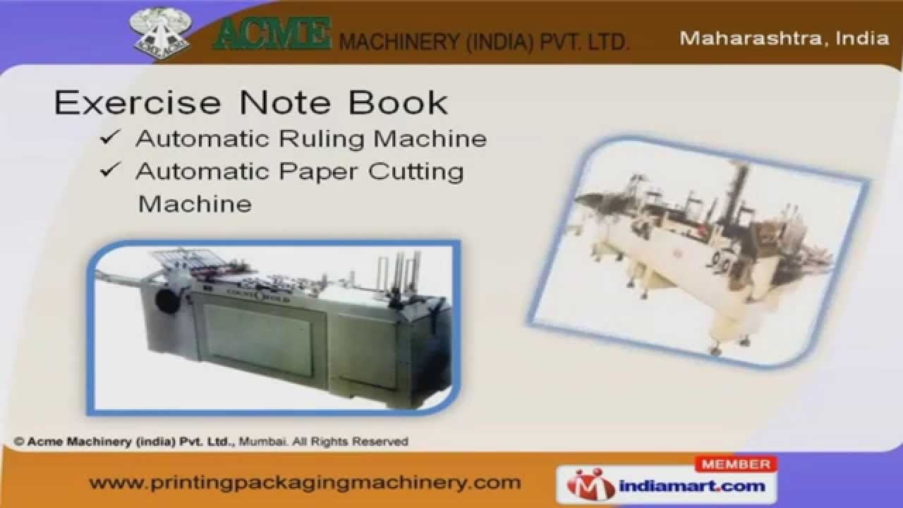 Corrugated Box Manufacturing Plant by Acme Machinery (india) Pvt ...