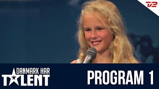Anna Grace - Danmark har talent - Program 1