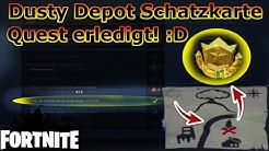 Fortnite: Folge der Schatzkarte aus Dusty Depot / Anleitung & Erklärung [German]