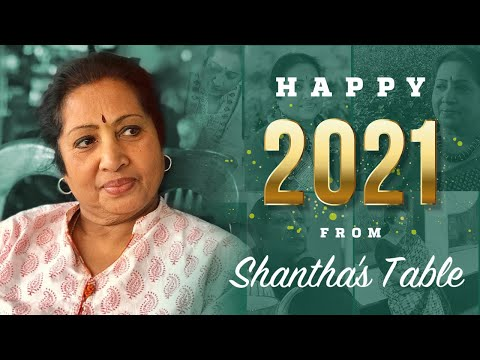 SHANTHA'S TABLE/ NewYear Announcement/ about Variety Shows,Cakes/Singing,Travel Vlog,Herbs/Spices